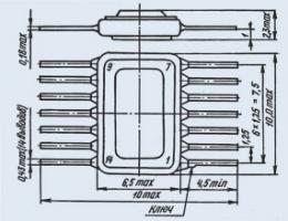 Микросхема К166НТ1А