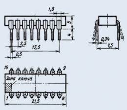 Микросхема К170АП4