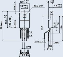 Микросхема К174УН14