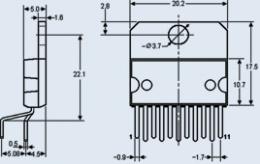 Микросхема К174УН25