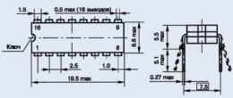 Микросхема К174ХА1М