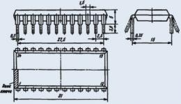 Микросхема К174ХА28