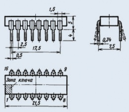 Микросхема К176ИЕ13