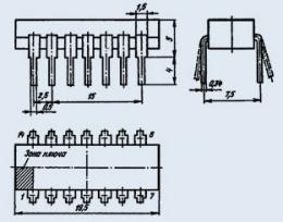 Микросхема К176ИР3