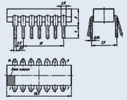 Микросхема К176ЛА7