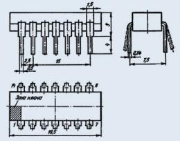 Микросхема К176ТМ2
