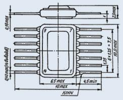 Микросхема К198НТ1Б