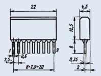 Микросхема К224УН4