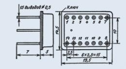Микросхема К249КН1Б