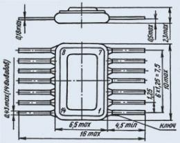 Микросхема К249ЛП1Б