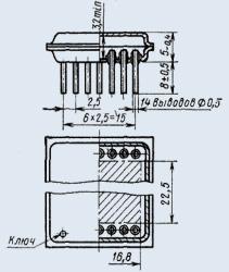 Микросхема К298ФВ16