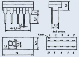Микросхема К490ИП1