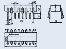 Микросхема К500ЛМ101
