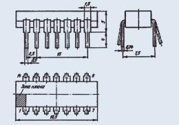 Микросхема К553УД1В