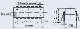 Микросхема К554СА3Б