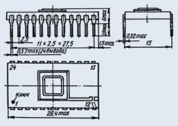 Микросхема К573РФ2