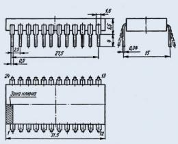 Микросхема К589ИР12