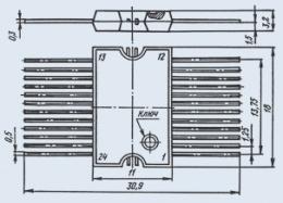 Микросхема КА1035ХЛ1