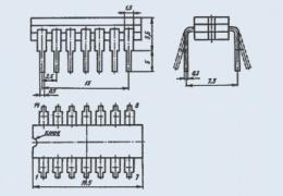 Микросхема КМ155ИЕ2