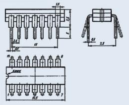 Микросхема КМ155ЛП5