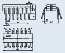 Микросхема КМ155ТМ5