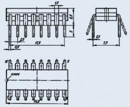 Микросхема КМ155ТМ7