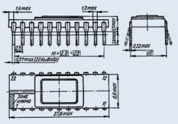 Микросхема КМ1613РТ1
