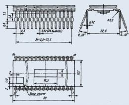 Микросхема КМ1801ВМ3В