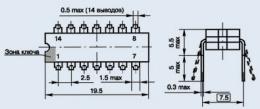 Микросхема КР1005УЛ1А