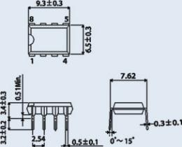 Микросхема КР1033ЕУ5А1