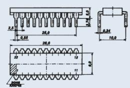 Микросхема КР1064ВЖ7А