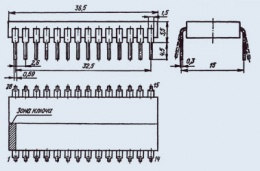 Микросхема КР1064ХА1