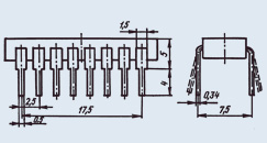 Микросхема КР1156ЕУ1