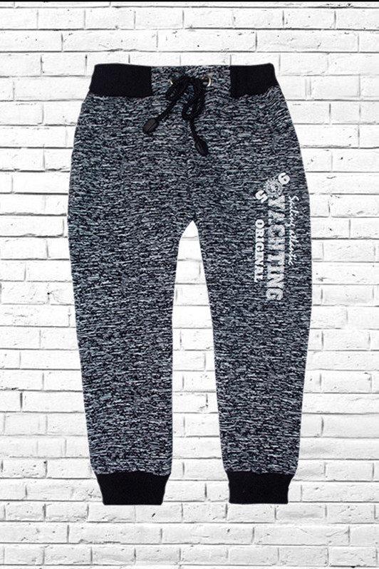 Купить Спортивные Брючки штаны Из 2-Х Нитки На Манжете С Карманами 98 - 146