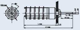 Купить Миниатюрный галетный переключатель ПГ7-19-10П4НВ
