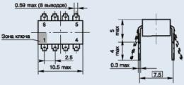 Купить Оптоэлектронное реле КР293КП9Б