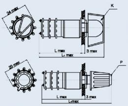 Купить Переключатель галетный ПГ2-15-4П9НВК
