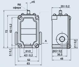 Купить Переключатель концевой ВПК-2112Б У2