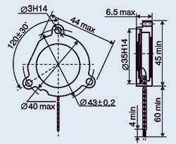 Купить Пьезокерамический излучатель ЗП-5