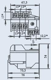 Купить Реле электротепловое РТТ-111 1А