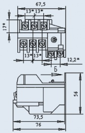 Купить Реле электротепловое РТТ-111 2,5А