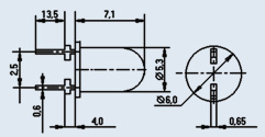 Buy Light-emitting AL307NM diode