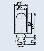Buy Light-emitting AL336V diode