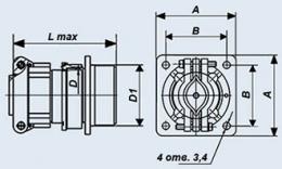 خرید کن فرکانس پایین اتصال استوانه 2RMT14BPN4G1V1V