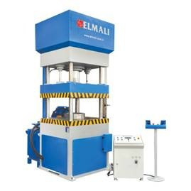 Hydraulic columned press of Elmali
