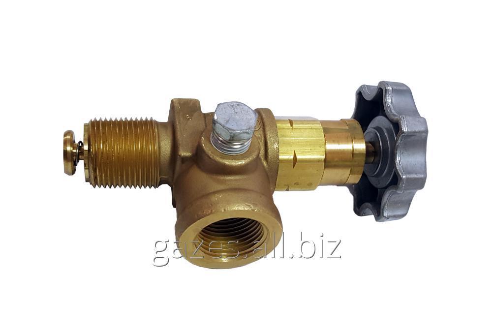 Купить Угловой клапан Regо 7550Р вентиль жидкой фазы СУГ, пропана бутана, кран сжиженного газа