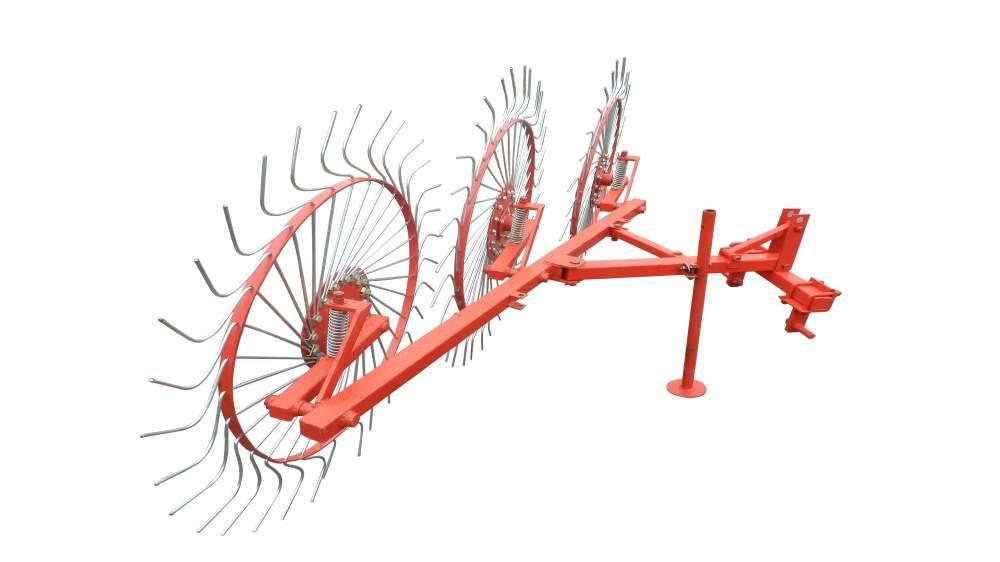 Грабли колесно-пальцевые Солнышко 3 1Т