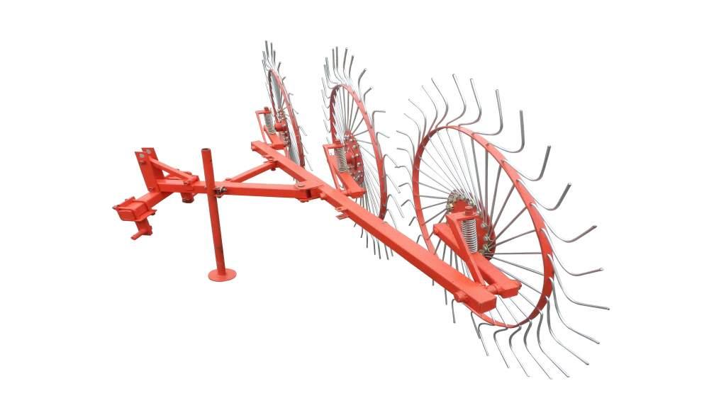Грабли колесно-пальцевые Солнышко 3 3Т