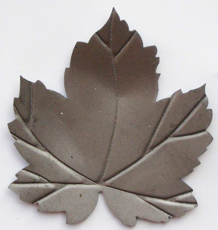 Купить Декоративный элемент лист виноградный кованый М50