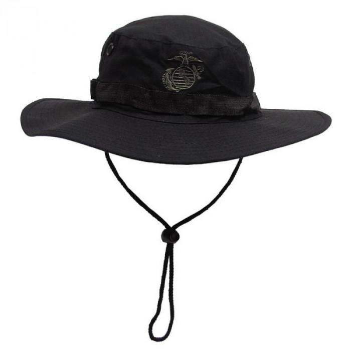Панама MFH USMC рип-стоп черная